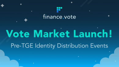 Photo of FINANCE.VOTE LAUNCHES VOTE MARKETS: HOW TO GET ACCESS?