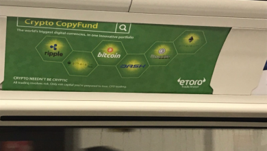 Photo of Bitcoin Exchanges Covered London's Metro With Adverts