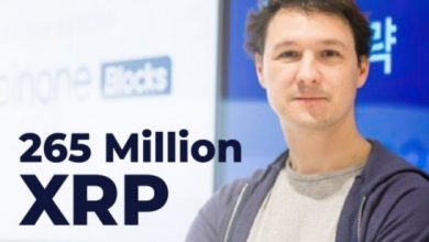 Photo of Ripple co-founder moves 265 million XRP as crypto billionaires lose a chunk of their net worth
