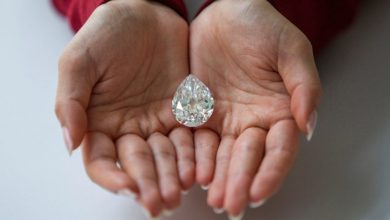 Photo of Sotheby's sells a rare diamond in cryptocurrency for $12.3 million