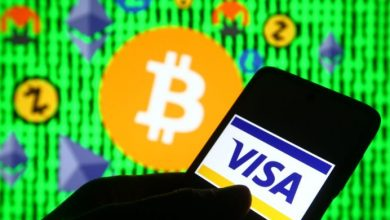 Photo of In the first half of 2021, Visa cryptocurrency cardholders spent more than $1 billion